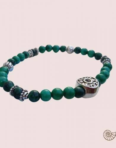 Designer malachite bracelet