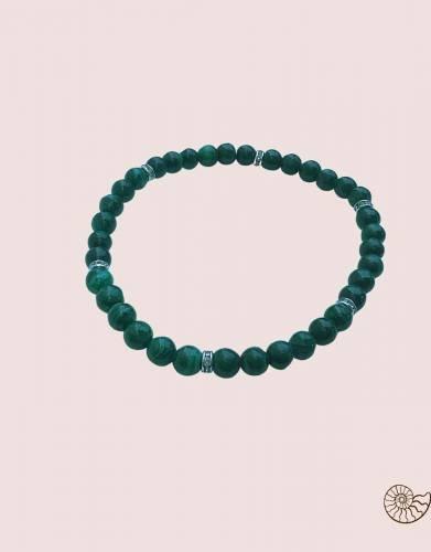 Dark malachite bracelet