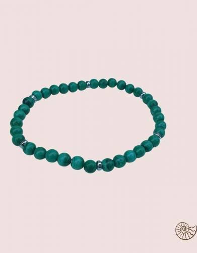 Light malachite bracelet